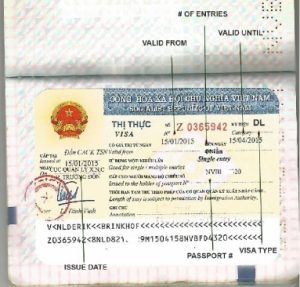 Check visa careful before leaving the landing visa counter