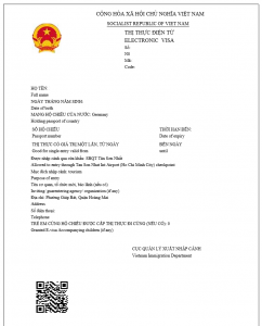 copy of Vietnam evisa