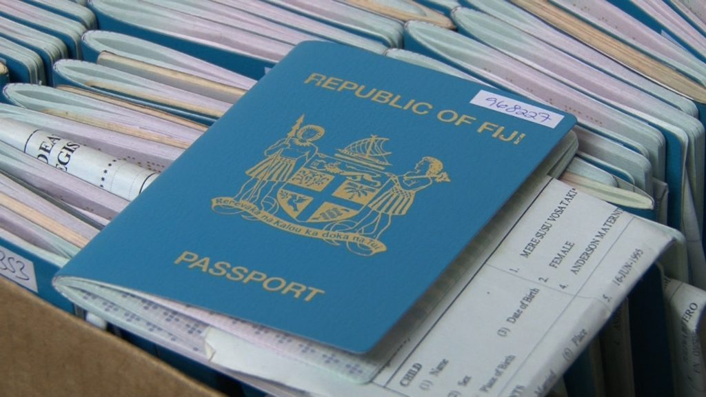 fiji passport visa